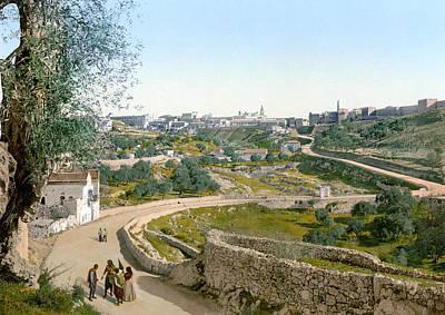 Jerusalem Painting - Jerusalem, C1900 by Granger