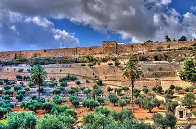 Photograph - Jerusalem by Don Wolf