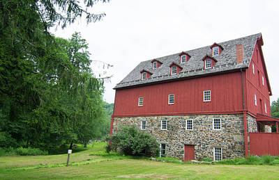 Maryland Photograph - Jerusalem Mill Village, Maryland, Old by Bill Bachmann