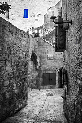Photograph - Jerusalem Street by Alexey Stiop