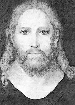 Photograph - Jesus Christ by Munir Alawi