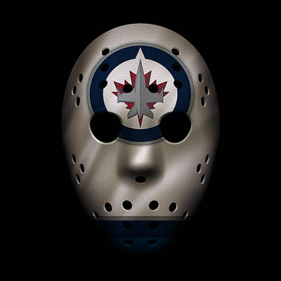 Photograph - Jets Jersey Mask by Joe Hamilton