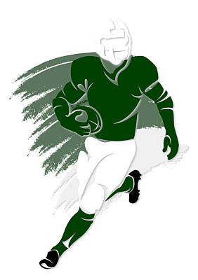 Jets Shadow Player2 Art Print by Joe Hamilton