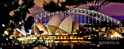 Sydney Harbour Photograph - Jewel Of The Harbour by Az Jackson
