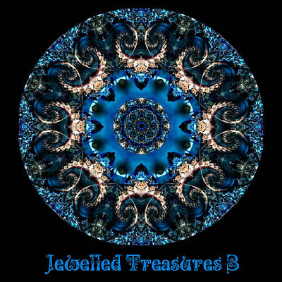 Digital Art - Jewelled Treasure No 16 by Charmaine Zoe