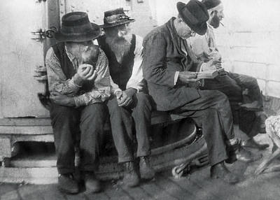 Jew Photograph - Jews Emigrate To South America by Underwood Archives