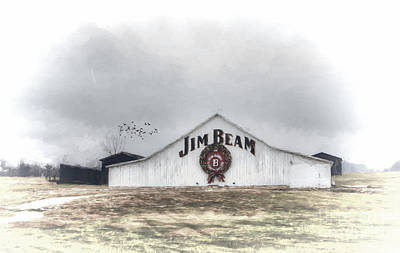 Clermont Photograph - Jim Beam by Darren Fisher