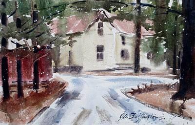 Jim Mocks House Art Print