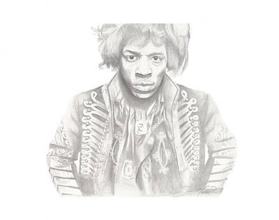 Jimi Hendrix Art Print by Don Medina