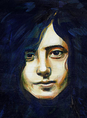 Painting - Jimmy Page by Charles  Bickel