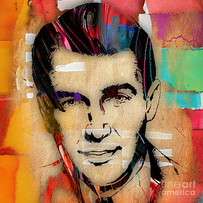 Actors Mixed Media - Jimmy Stewart Collection by Marvin Blaine