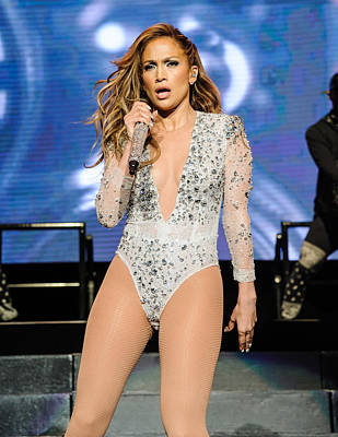Jennifer Lopez Photograph - Jlo In Concert by SartorialPhotos Wire Service