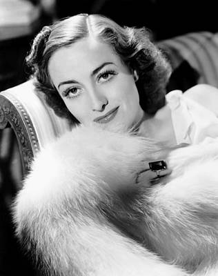 Cocktail Ring Photograph - Joan Crawford, Ca. 1935 by Everett