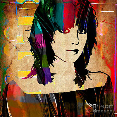 Joan Jett Collection Print by Marvin Blaine