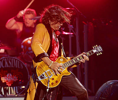 Joe Perry Aerosmith Original by Don Olea