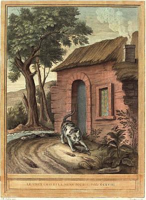 Johann Christoph Teucher After Jean-baptiste Oudry German Art Print by Litz Collection