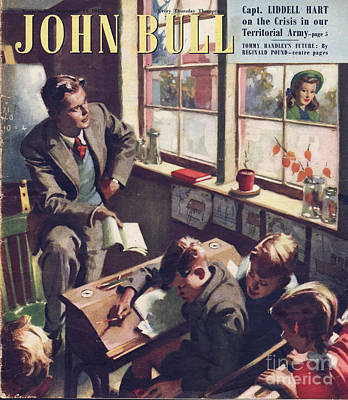 Nineteen Forties Drawing - John Bull 1948 1940s Uk Schools by The Advertising Archives