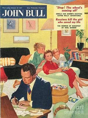John Bull 1950s Uk Holidays  Brochures Art Print by The Advertising Archives