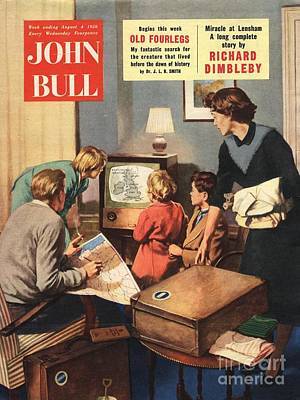John Bull 1950s Uk Holidays Weather Art Print by The Advertising Archives