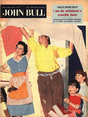 John Bull 1957 1950s Uk Expressions Art Print by The Advertising Archives