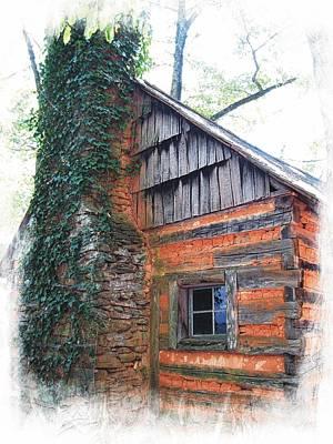 Photograph - John C. Campbell Cabin by Joe Duket