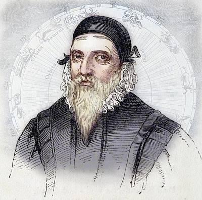John Dee Print by Paul D Stewart