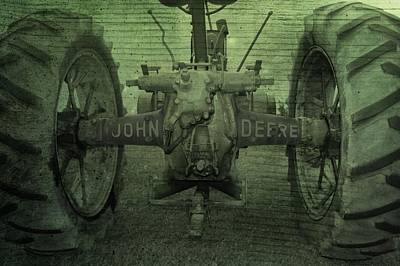 Photograph - John Deere by Dan Sproul