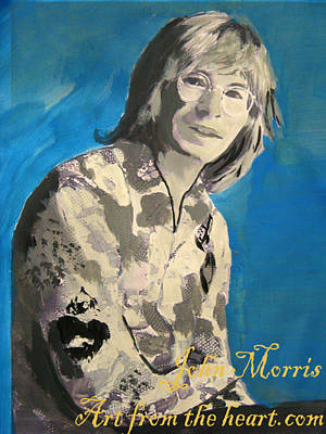 John Denver Art Print by John Morris