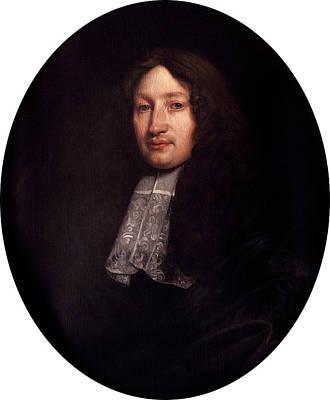 John Dryden Art Print by Bodleian Museum/oxford University Images