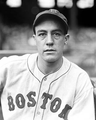 Red Sox Photograph - John G. Johnny Peacock by Retro Images Archive