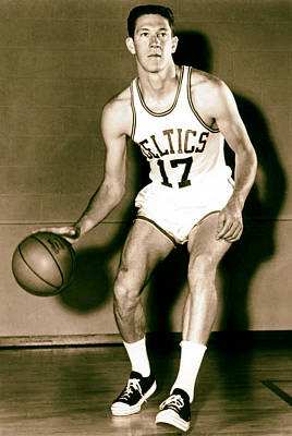 John Havlicek Of The Boston Celtics 1960s Art Print by Mountain Dreams