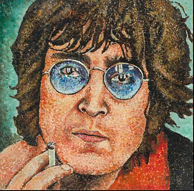 Painting - John Lennon by Melinda Saminski
