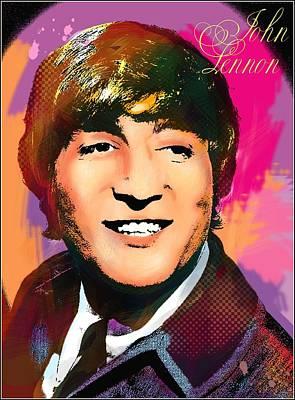 Photograph - John Lennon  by Vitaliy Shcherbak