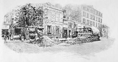 John Paul Jones Remains Art Print by Granger