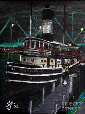 Pastel - John Wannamaker by Francois Lamothe