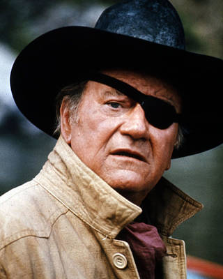 Rooster Cogburn Photograph - John Wayne In Rooster Cogburn  by Silver Screen