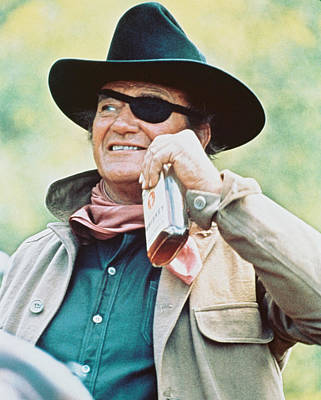 1960 Photograph - John Wayne In True Grit  by Silver Screen