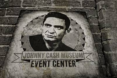 Country Music Hall Of Fame And Museum Photograph - Johnny Cash Museum by Dan Sproul