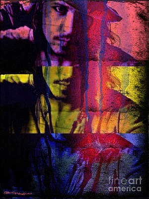 Christine Mixed Media - Johnny Depp by Christine Mayfield