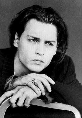 Photograph - Johnny Depp by Karon Melillo DeVega