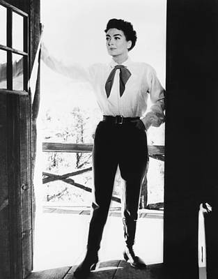 Johnny Guitar, Joan Crawford, 1954 Art Print by Everett