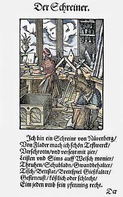 Joiner, 1568 Art Print by Granger