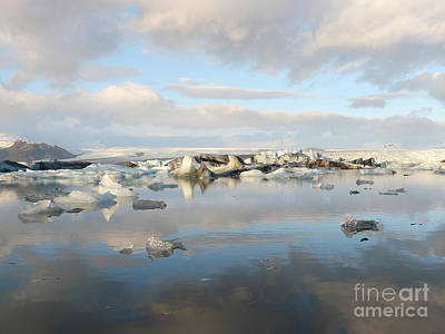 Photograph - Jokulsarlon Glacier Lagoon by IPics Photography