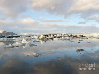 Photograph - Jokulsarlon Glacier Lagoon by IPics Photography
