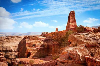 Petra Photograph - Jordanian Desert by Alexey Stiop