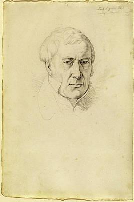 Josef Von Führich, Austrian 1800-1876 Art Print by Litz Collection