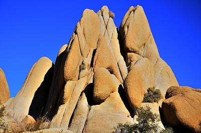 Photograph - Joshua Tree Rocks by Walt Sterneman
