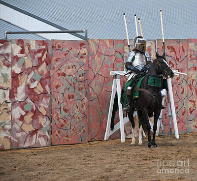 Jousting Art Print by Juli Scalzi