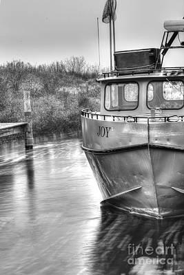 Tug Boat Photograph - Joy In Leland by Twenty Two North Photography