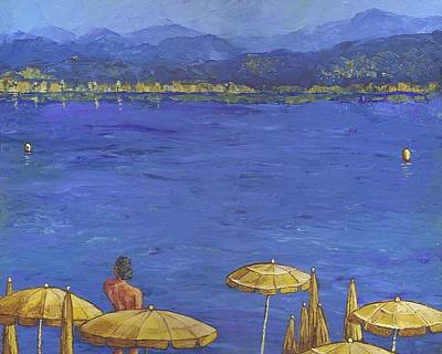 Painting - Juan Les Pins by Estefan Gargost